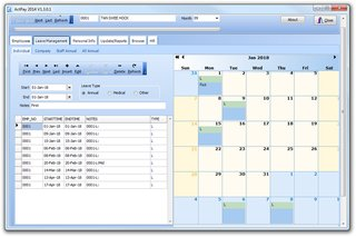 Free Leave management software